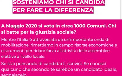 Aspettando gli esiti del voto in Emilia Romagna e Calabria, abbiamo deciso di lanciare la nuova call di Ti candido