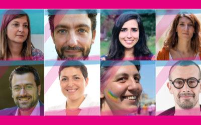 Sono 8 i candidati scelti da Ti Candido. 8 storie diverse per rigenerare la politica. Ma c'è bisogno del tuo contributo